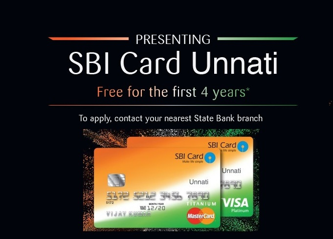 SBI-unnati-credit-card