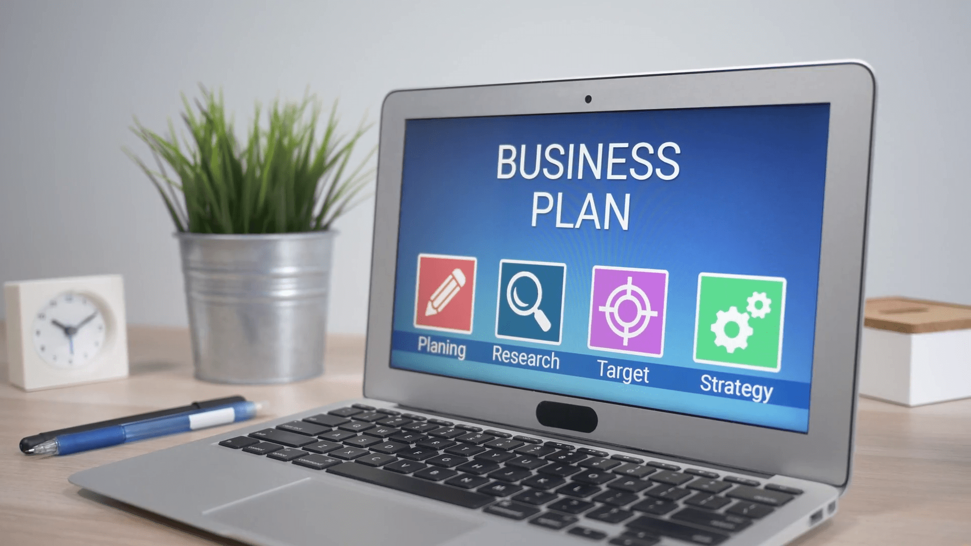 how to make a business plan for an online store